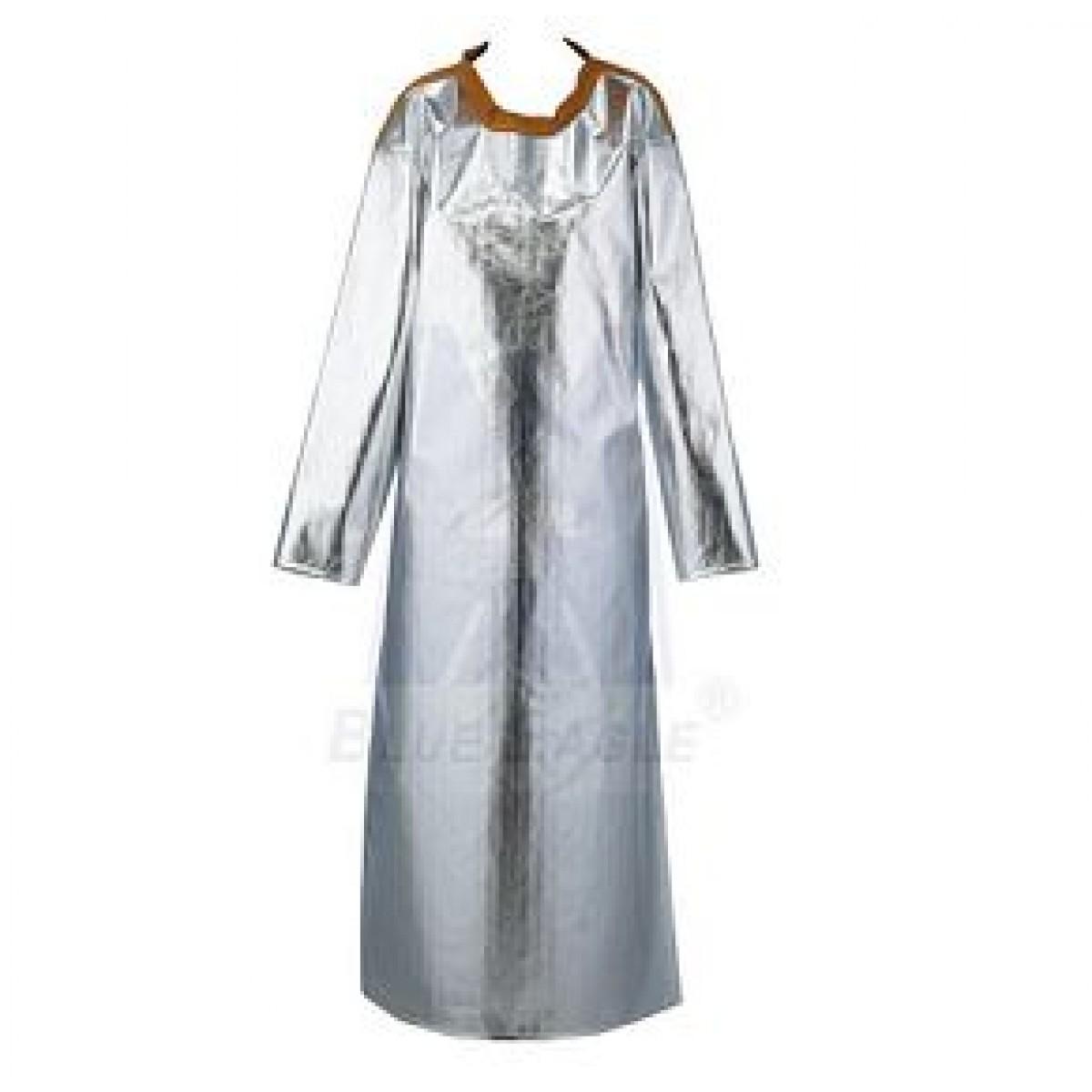 Quần áo chống cháy Chịu Nhiệt Tráng Nhôm DickSon dạng Yếm có tay