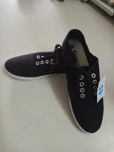 Giày vải bảo hộ cao cấp Hashoes Đế chống dầu