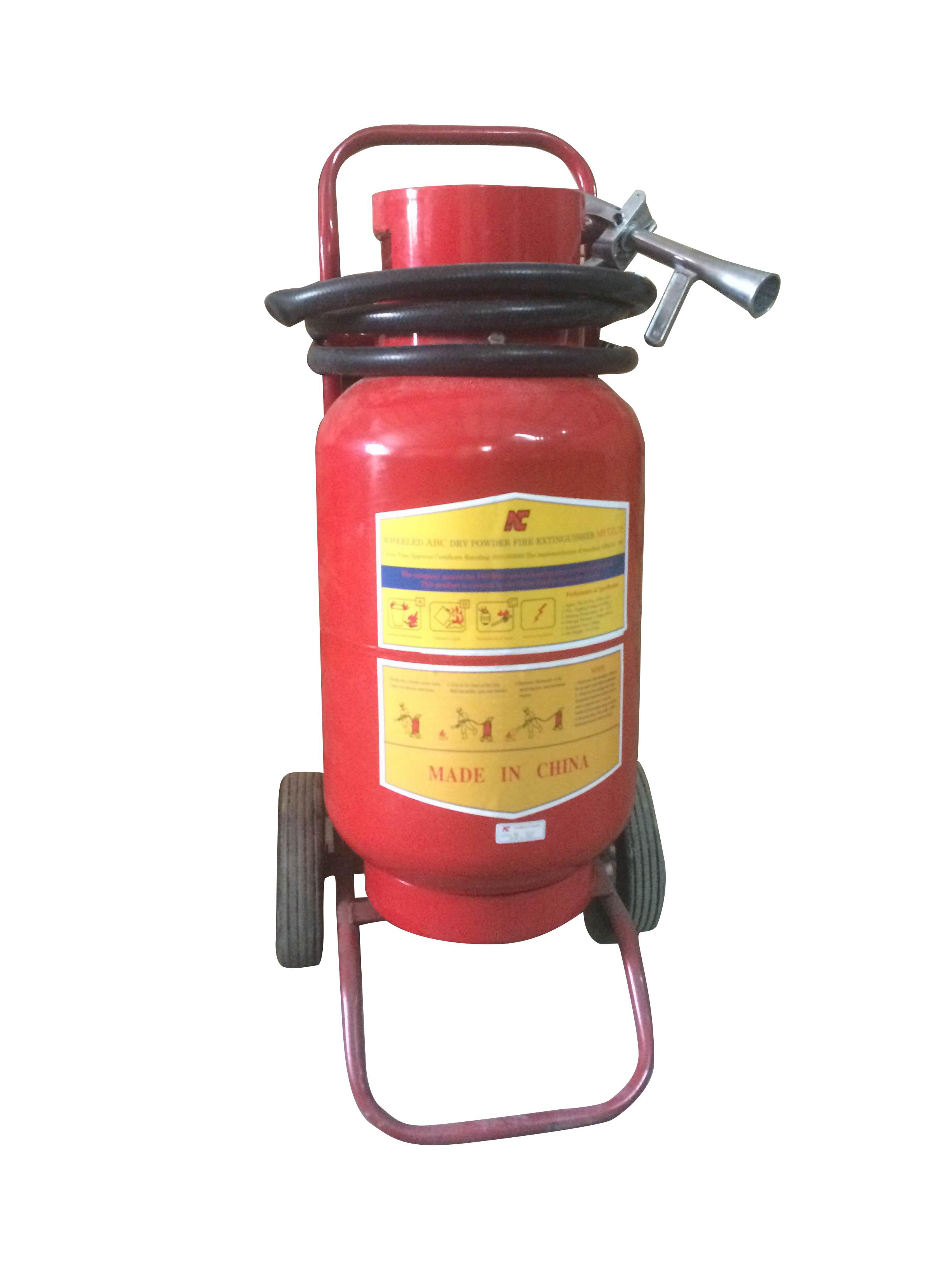 Bình chữa cháy Xe đẩy MFZ35 35kg BC