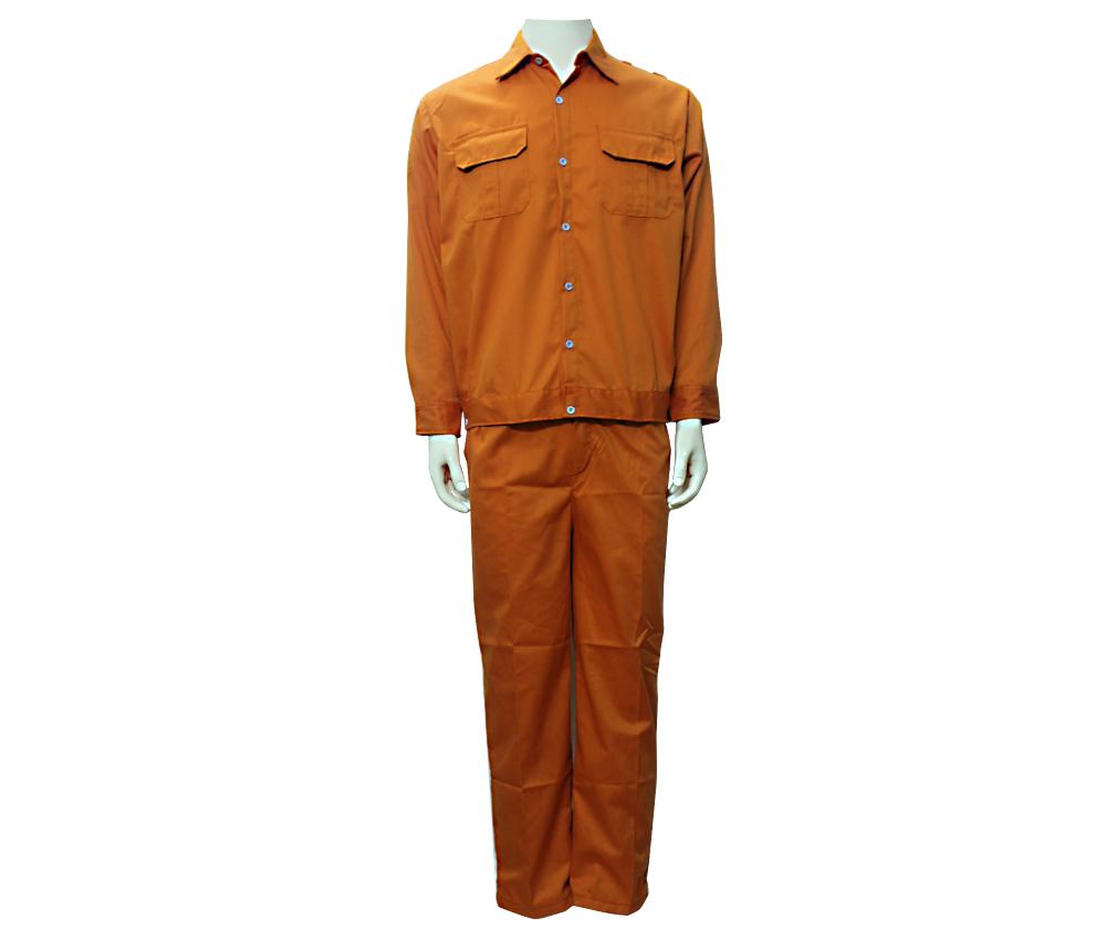 Quần áo màu cam vải kaki